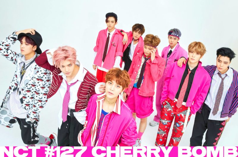 MV NCT 127 - CHERRY BOMB