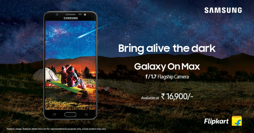 Samsung Rilis Smartphone Galaxy On Max Seharga Rp 3 Jutaan
