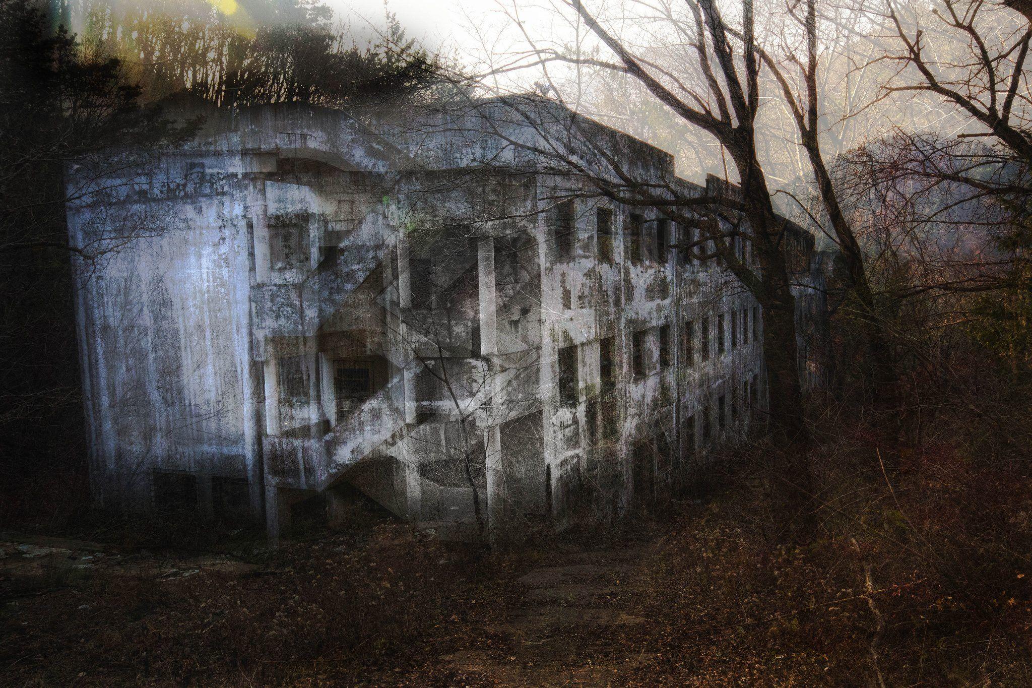 Foto Bangunan Menakutkan dan Angker di Korea
