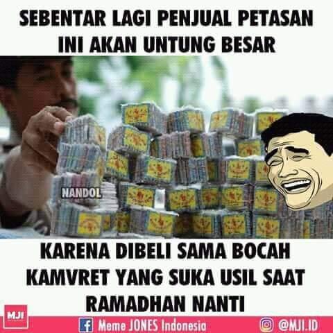5 Meme jelang bulan puasa ramadhan apa yang akan viral Mercon