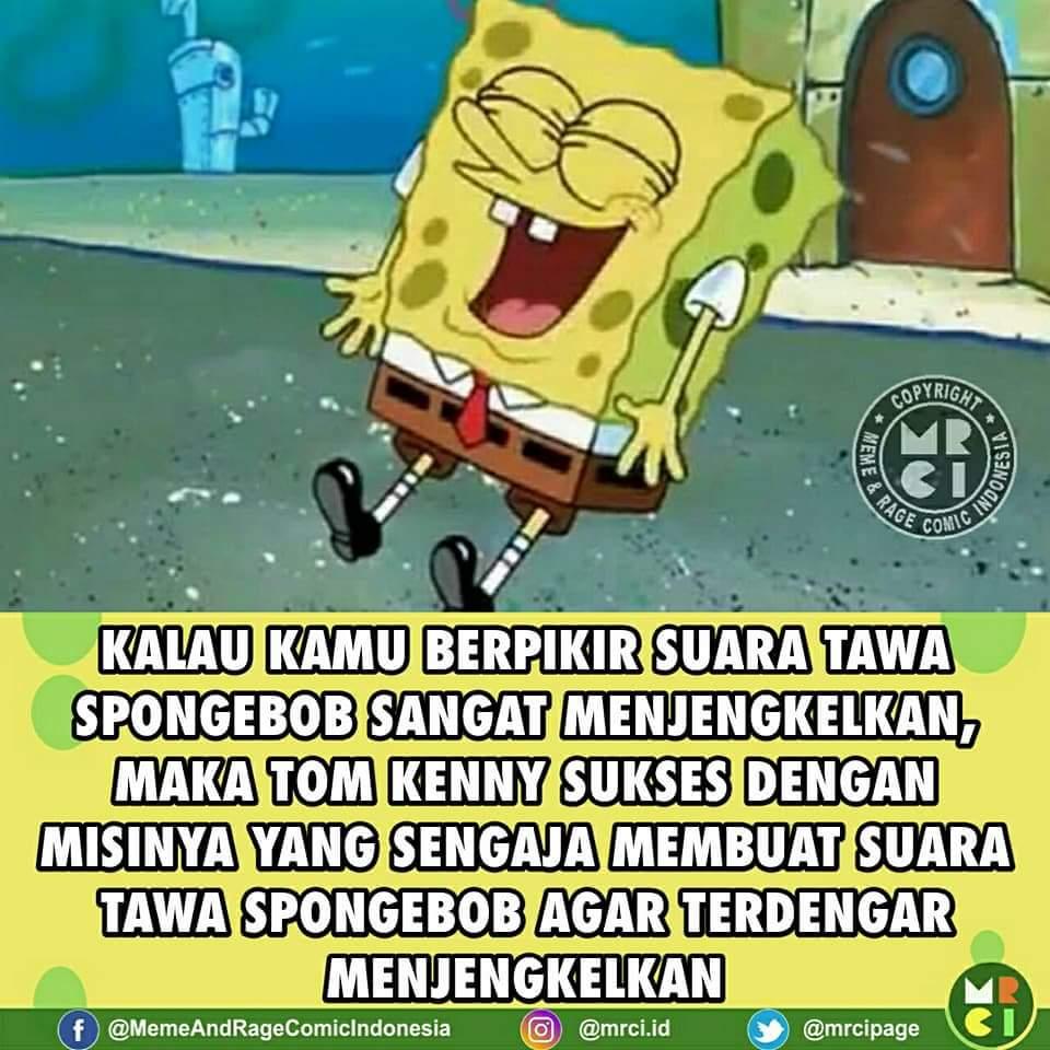 Kumpulan Gambar Meme Lucu Spongebob Dp Bbm Lucu