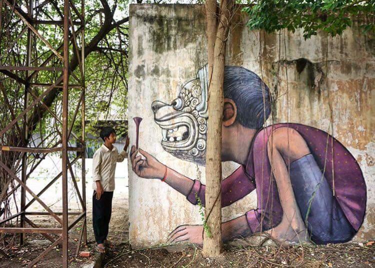 20 Karya Seni Lukisan Tembok Jalanan Street Art Ini Keren Abis