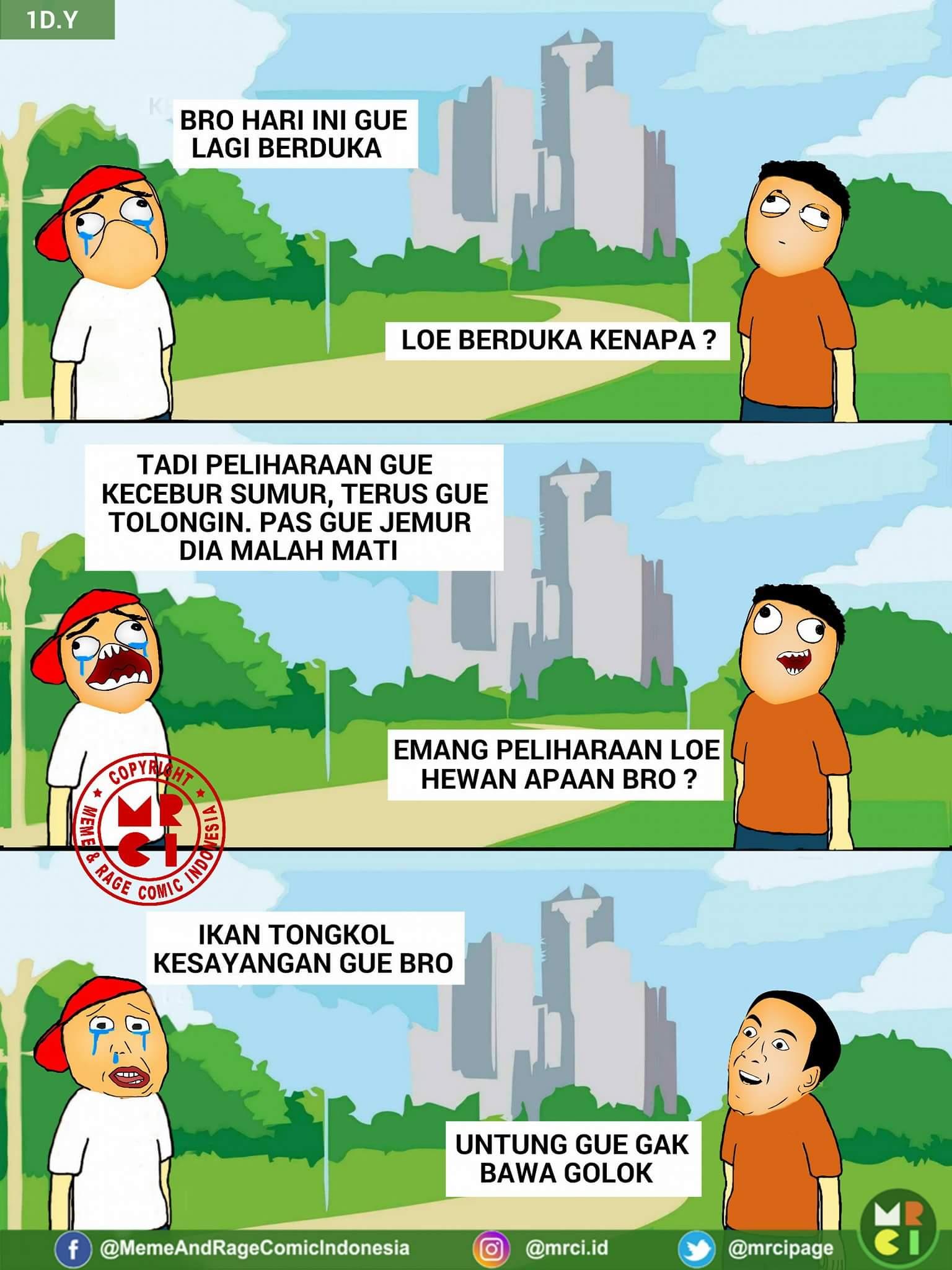 6 Meme Comic Obrolan Lucu Herp Dan Cage Duh Bacanya Jadi Ngukuk