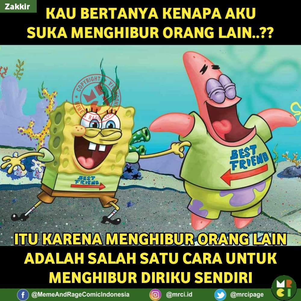 Meme Spongebob Nyindir Friend