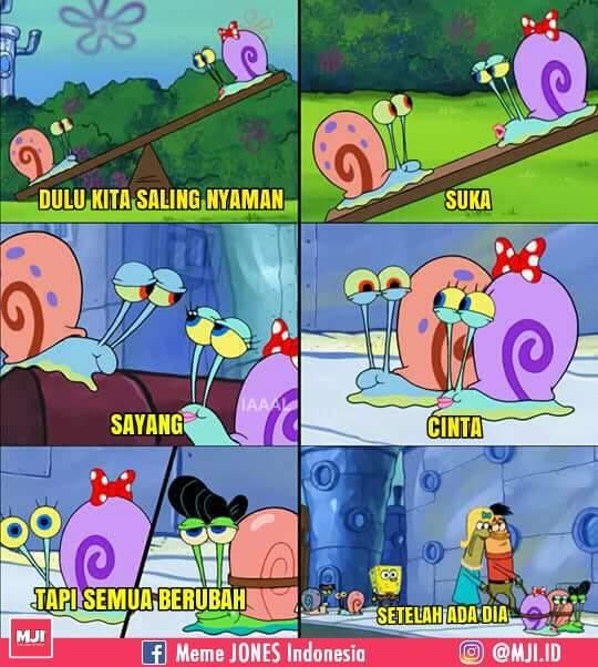 Kumpulan 10  Meme Spongebob Squarepants ini bakal ceriakan harimu!  LifeLoeNET