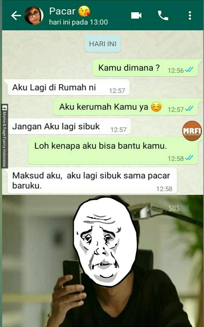 10 Meme Obrolan Lucu Di WhatsApp Ini Bakal Bikin Kamu Senyum Senyum