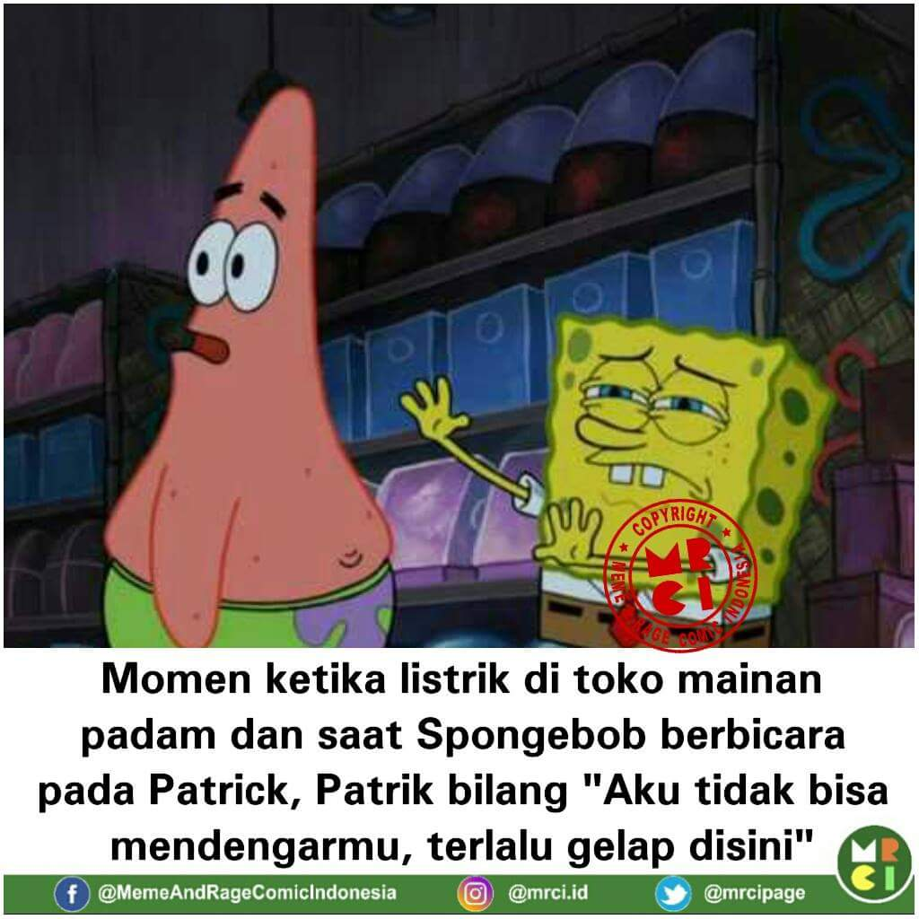 10 Foto Momen Lucu Patrick Star Karakter Animasi Spongebob